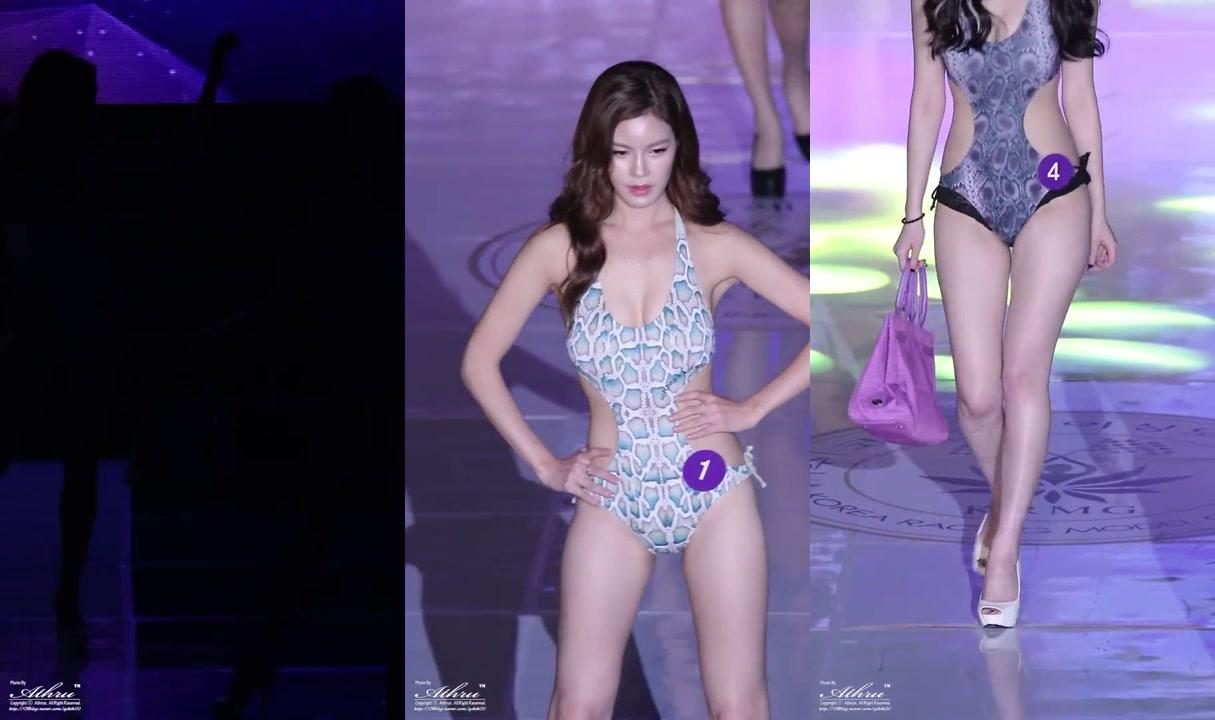 직캠 FanCam 151104 Korea美Festival RacingModel Show&Contest  수영복심사 비키니 by Athrun