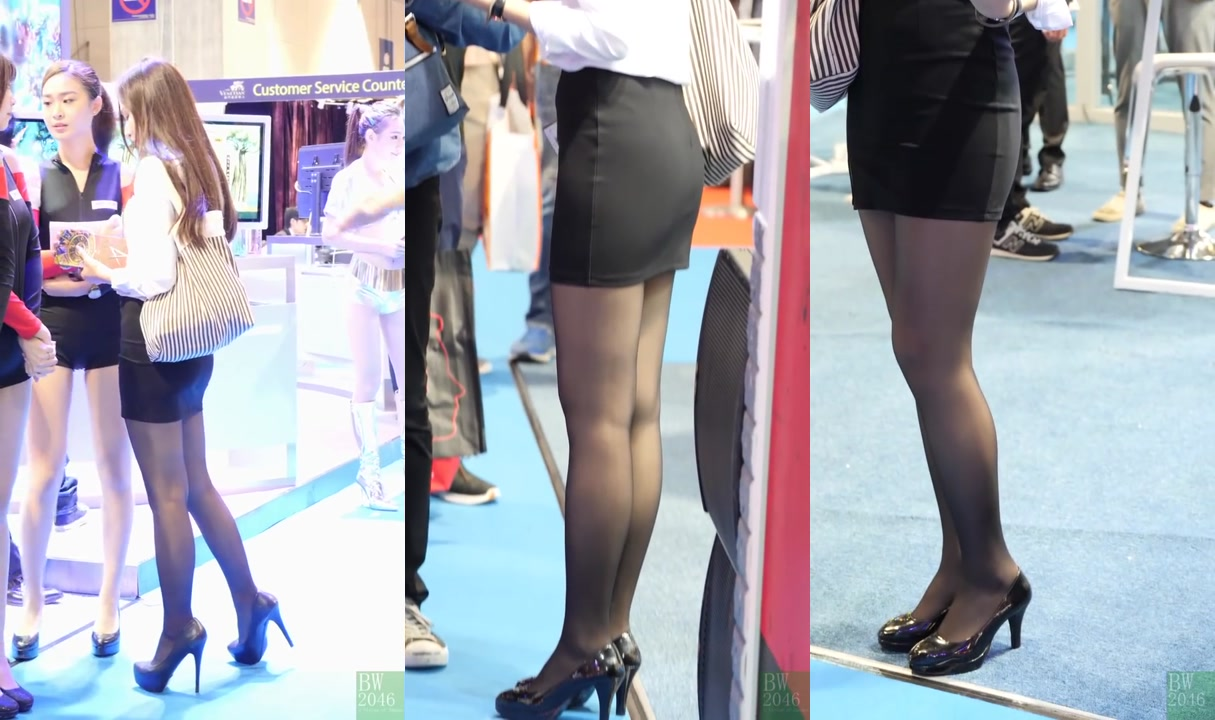 (PC版) OL高义黑絲短裙 - PLAYSTAR @ 亞洲國際博彩娛樂展 G2E Asia 2018