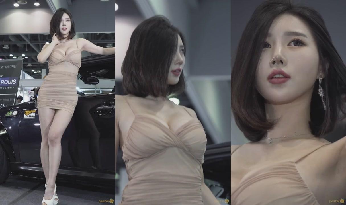 모델 '송주아' 4K 직캠 1 @ 2018 오토위크