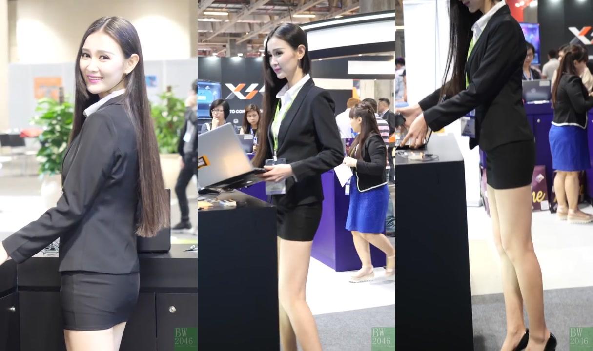 于瑩 - OL短裙套裝 - So.Bet @ 亞洲國際博彩娛樂展 G2E Asia 2017