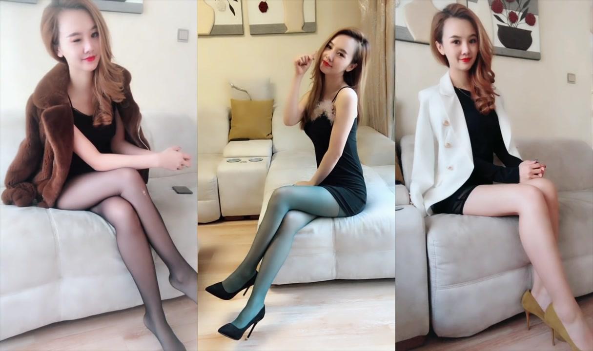 愛「絲襪」的「美腿」女人臉蛋精緻「漂亮」氣質也高雅